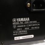 YAMAHA CDR-HD1300 HDD/CD recorder