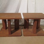 Hand-made(?) speaker stands (pair)