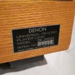 DENON DP-80 + DP2000G + DA-308/DA-305