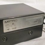 MICRO DD-120 + MA-505S analog disc player