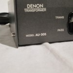 DENON AU-305 MC step-up transformer