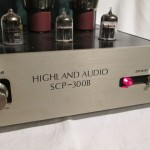 Highland Audio SCP-300B tube stereo integrated amplifier