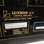 LUXMAN C-7i (up graded ver.) stereo preamplifier