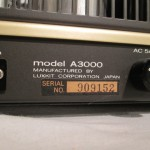 LUXKIT A3000 tube monaural power amplifiers (pair)