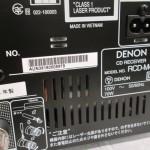 DENON RCD-M41 Bluetooth/CD receiver