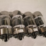 General Electric 6550A(MQ) beam power pentode (4pcs)