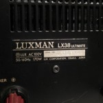 LUXMAN LX38 ultimate tube stereo integrated amplifier