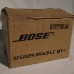 BOSE MT-1 speaker brackets (pair)