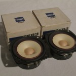 FOSTEX FE83 full range transducers (pair)