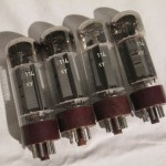 TESLA EL34 power pentode (4pcs/MQ)