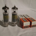 United Electron 6BQ5/EL84 beam power pentode (pair)