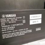 YAMAHA YAS-106 front surround speaker