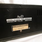 A&D GX-Z9000 stereo tape racorder