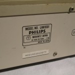 Philips LHH-1000 CD transport + D/A converter