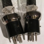 Western Electric 300B/MP triode vaccum tubes (pair)