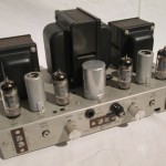 AMPEX 6973 push-pull stereo power amplifier