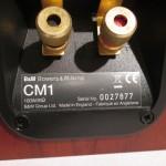 B&W CM1(MY) 2way speaker systems (pair)