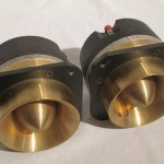 JBL 075 (brass horn) HF transducers (pair)