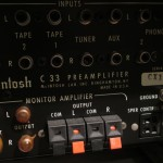 McIntosh C33 stereo preamplifier
