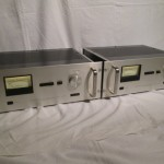 Accuphase M-60 monaural power amplifiers (pair)