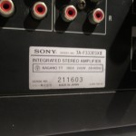 SONY TA-F333ESXⅡ integrated stereo amplifier