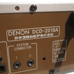 DENON DCD-201SA CD player
