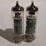 NEC BQ5/EL84 beam power pentode (pair)