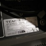 TEAC X-10R open-reel tape recorder