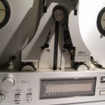 AKAI GX-77 open-reel tape recorder