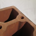 NORITAKE pottery speaker bases (large size 4pcs set)