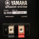 YAMAHA NS-1000M 3way speaker systems (pair)