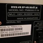 marantz PM8000 integrated stereo amplifier