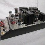 Hand-made 6L6GC/5881 single stereo power amplifier