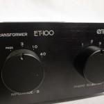 ENTRE ET-100(BK) MC step-up transformer