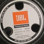 JBL 2226H LF transducers (pair)