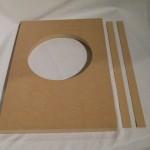 Hasehiro front baffle board (pair)