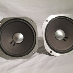 JBL 2115 8inch full-range + SANSUI monitor 2130 enclosures (pair)