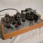 Hand-made UX-71A single stereo power amplifier