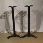 ULTIMATE MS-90/36B speaker stands (pair)