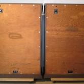 背面部です。リアバッフル板は未塗装、これでオリジナル状態です。