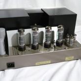出力管は2台共に electro harmonix EL34EH ×4 に交換しました。