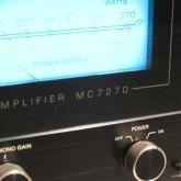 MC7270 は最大 270W×2 を出力します。
