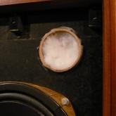 現在ダクトは綿状の素材で塞がれていますが、容易に取り外せます。