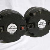 存在感ある GAUSS の大型ドライバーです。JBL 375/2440 用ホーンに接続可能です。
