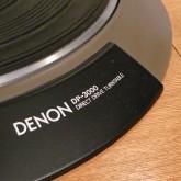 フォノモーターは DP-3000 です。