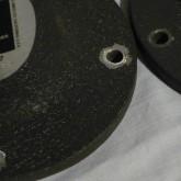 ボルト接合部周辺には使用感があります。