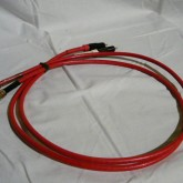 HUBER+SUHNER 製ケーブルをオーディオ用に加工したものです。