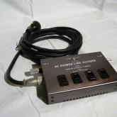 コンパクトで扱いやすいオーディオ用ACタップです。