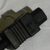 インレットプラグは IEC320-C15 形状 FURUTECH FI-15E(G) です。