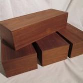 木質のオーディオ用スピーカーベースです。